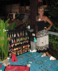 Suzan with Jewelry