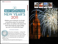 4 Best Spots for New Years