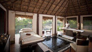 Ngerende Island Lodge spa